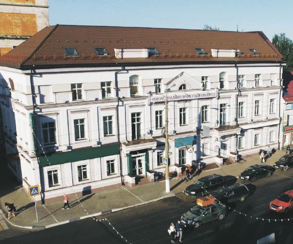 Реконструкция дома на Советской
